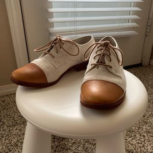 GH Bass 'Evelyn' Leather Oxfords